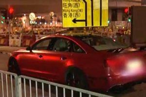 5 thành viên Hội Tam Hoàng chém nhầm người trên chiếc xe Audi đỏ