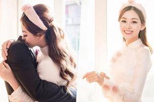 Á hậu Tường San làm lễ rước dâu