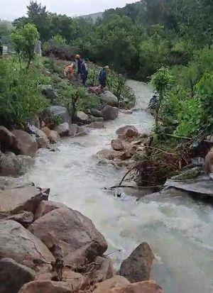 Cha và 2 con nhỏ chết thảm do nước lũ cuốn ở Khánh Hòa