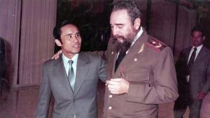Mãi mãi kính yêu Fidel Castro