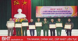 Trao tặng 54 kỷ niệm chương 'Vì chủ quyền an ninh biên giới tổ quốc'