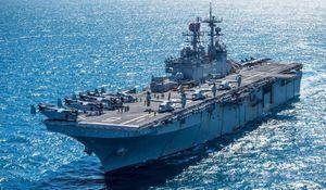 Hải quân Mỹ mất một phần sức mạnh khi phải loại biên siêu tàu đổ bộ có thể mang F-35B