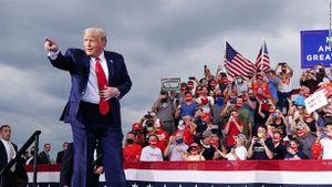 Ông Trump lợi thế bất ngờ dù thừa nhận Biden thắng cuộc