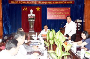 Kỳ họp thứ 19: 11 Tổ Đại biểu HĐND tỉnh thảo luận nhiều nội dung quan trọng