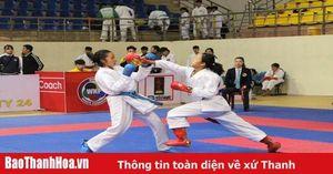 Khởi tranh Giải vô địch các CLB karate Thanh Hóa mở rộng 2020