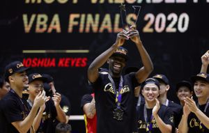 Ngoại binh người Mỹ nhận danh hiệu MVP ở chung kết VBA