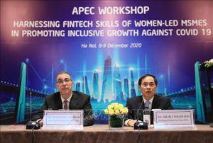 APEC thúc đẩy phục hồi doanh nghiệp phụ nữ làm chủ thông qua tài chính số