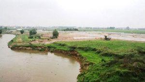 Công bố tình trạng khẩn cấp sạt lở mái đê và bờ các sông Cà Lồ, Đáy, Đuống