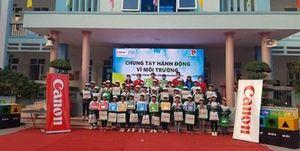 Tuyên truyền bảo vệ môi trường cho học sinh tiểu học tỉnh Bắc Giang