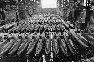 Cận cảnh xưởng tàu ngầm mini của đế chế Nhật Bản