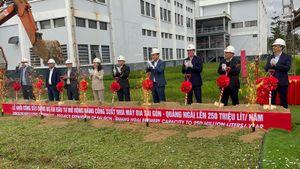 SABECO động thổ Dự án Nâng Công Suất Nhà máy Bia Sài Gòn – Quảng Ngãi