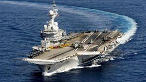 Đóng tàu sân bay, Pháp sẽ mua máy phóng điện từ Mỹ?
