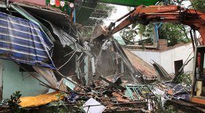 Cưỡng chế hàng loạt công trình xây dựng trái phép ở TP Vũng Tàu