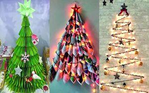 3 cách tự làm cây thông Noel vừa đáng yêu 'hết nấc' vừa tiết kiệm, khách đến chơi nhà thích mê!