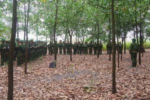 BĐBP tỉnh: Tập huấn kỹ thuật chiến đấu bộ binh và chiến thuật biên phòng