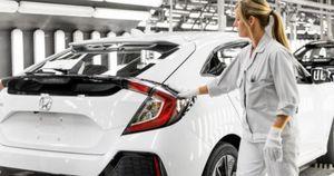 Honda ngừng sản xuất tại Anh do thiếu linh, phụ kiện