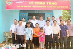 Trao Mái ấm nông dân tại huyện Long Thành