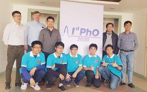 Năm học sinh đoạt huy chương Kỳ thi Olympic Vật lý quốc tế