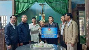 Hỗ trợ nhà Đại đoàn kết cho gia đình giáo dân