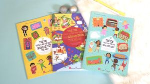 Bộ sách cung cấp thông tin hữu ích về trẻ em trên toàn thế giới