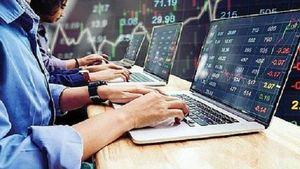 Bảng điện treo đợt khớp lệnh ATC khi VN Index mất hơn 15 điểm