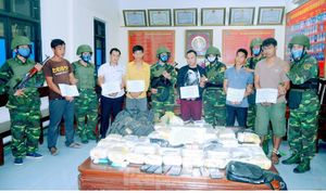 Lính biên phòng đấu súng với tội phạm ma túy, phá nhiều án 'khủng'
