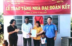 VKSND Đắk Lắk, Ban Dân vận Tỉnh ủy tặng nhà gia đình nghèo