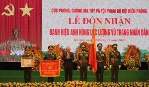 Phó Thủ tướng trao danh hiệu AHLLVTND cho Cục Phòng chống ma túy và tội phạm