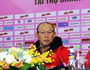 HLV Park Hang Seo: U22 Việt Nam hoàn toàn có thể thắng được ĐTQG