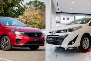 Sedan Nhật Bản tầm 600 triệu đồng, chọn Honda City hay Toyota Vios?