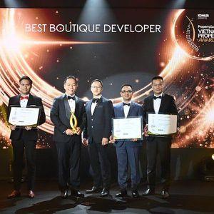 Gotec Land được nhận 4 giải thưởng Vietnam Property Awards 2020