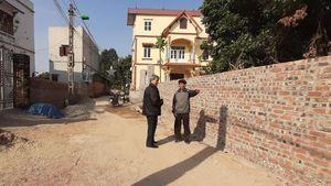 Bắc Giang: Cựu chiến binh gương mẫu hiến đất làm đường