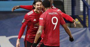 Cavani lập siêu phẩm loại Everton, Man United chờ chạm trán Man City ở bán kết