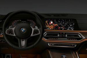 BMW bật chức năng hiển thị chào Giáng sinh