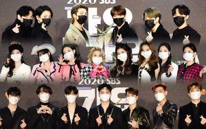 Siêu thảm đỏ 'SBS Gayo Daejeon 2020': BTS chiếm 'spotlight' trước TWICE, SEVENTEEN, GOT7, NU'EST
