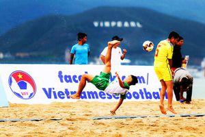 Giải bóng đá bãi biển vô địch quốc gia 2020: Mở màn đã căng