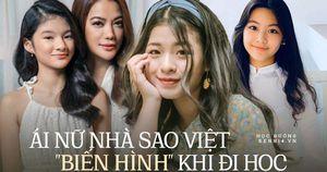 Dàn ái nữ nhà sao Việt xinh như hot girl khi đi học: Ở trường ăn mặc giản dị, chứ lên đồ thì 'chặt chém' chẳng kém ai!