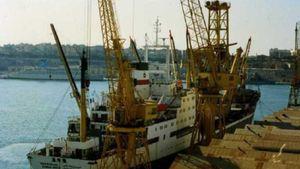 Tàu chở hàng Iran chìm gần eo biển Hormuz