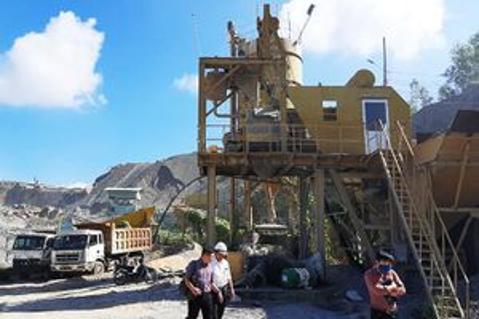 Ninh Hòa: Xử lý các trạm trộn bê tông xây dựng trái phép