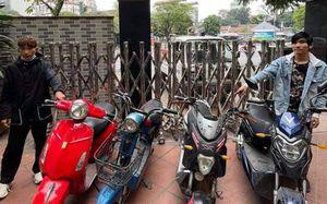 Hai anh em họ rủ nhau đi trộm cắp xe máy điện