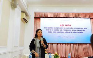 Thúc đẩy tiếng nói người bệnh, xây dựng chính sách chăm sóc sức khỏe cộng đồng