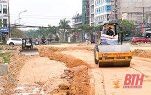 Đẩy nhanh tiến độ thi công Dự án Đại lộ Đông - Tây TP Thanh Hóa