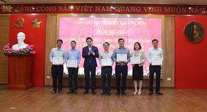Văn phòng Tỉnh ủy Khánh Hòa tổ chức Hội nghị cán bộ công chức, người lao động năm 2021