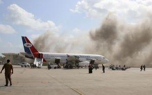 Vụ tấn công táo tợn sân bay Yemen đã phá hoại các nỗ lực hòa bình