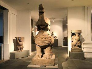 Thêm hai hiện vật ở Bảo tàng Điêu khắc Chăm được công nhận Bảo vật Quốc gia