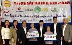 Thanh Hóa trao tiền hỗ trợ làm nhà Đại đoàn kết cho hộ nghèo