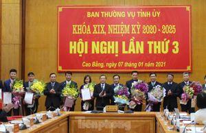 Luân chuyển, bổ nhiệm nhiều cán bộ lãnh đạo tỉnh Cao Bằng