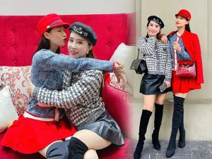 Quỳnh Nga-Lã Thanh Huyền nắm tay lên đời phong cách U40