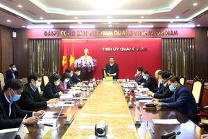 Kiểm điểm tự phê bình và phê bình cá nhân các đồng chí ủy viên BTV Tỉnh ủy năm 2020