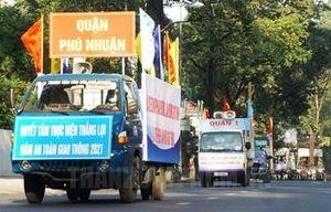 TP Hồ Chí Minh phát động ra quân thực hiện Năm An toàn giao thông 2021